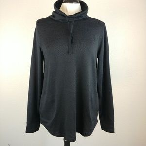 NWT Drawing Cowl neck Black Sweater